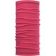 Buff 3/4 Lightweight Merino Wool Tube Solid Wild Pink